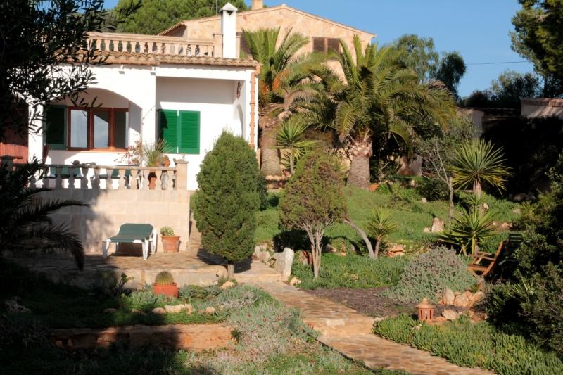 puracalma Blick zum Haus