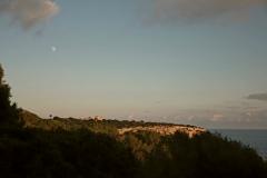 puracalma Impression beim Sonnenuntergang