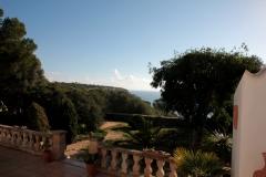 puracalma Blick von der Terrasse